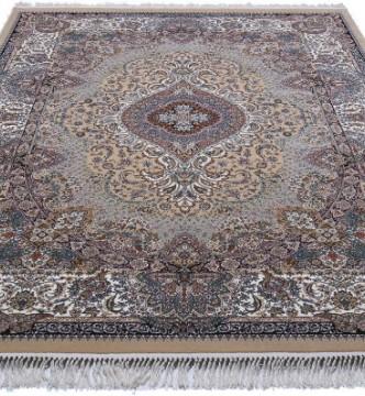 Персидский ковер Kashan 774-BE Beije - высокое качество по лучшей цене в Украине.