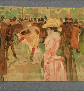 """Ковер Lautrec (""""Le Moulin Rouge""""/2081060) - высокое качество по лучшей цене в Украине."""