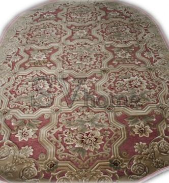 Акриловый ковер Antik 2342 rose-rose - высокое качество по лучшей цене в Украине.