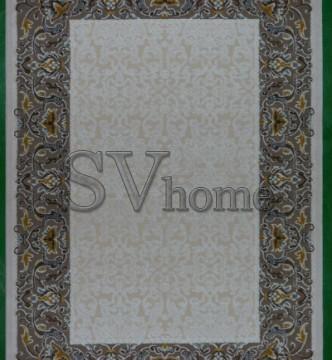 Акриловый ковер Carmina 0123 kemik-brown - высокое качество по лучшей цене в Украине.