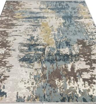 Акриловый ковер Sahra 0162A Beige-Blue - высокое качество по лучшей цене в Украине.