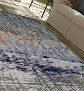 Безворсовый ковер Almina 127526 01-Grey/Green - высокое качество по лучшей цене в Украине.