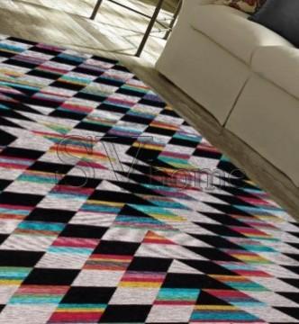 Безворсовый ковер Almina 127569 01-Multicolor - высокое качество по лучшей цене в Украине.