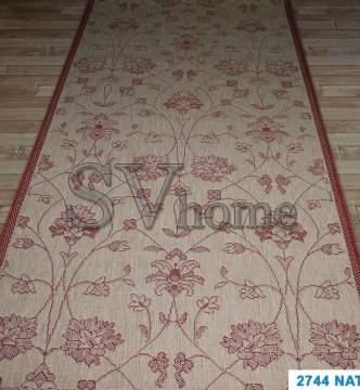 Безворсовый ковер Cottage 2744 natural-red - высокое качество по лучшей цене в Украине.
