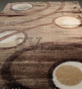 Высоковорсный ковер 3D Polyester 0052 L.BROWN-L.BROWN - высокое качество по лучшей цене в Украине.