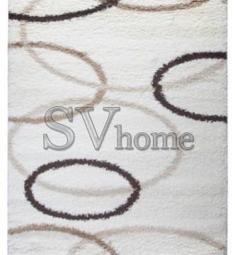 Высоковорсная ковровая дорожка First Shaggy 4006 , CREAM - высокое качество по лучшей цене в Украине.