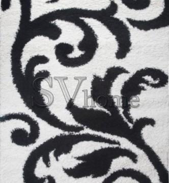Высоковорсная ковровая дорожка First Shaggy 8432 , WHITE - высокое качество по лучшей цене в Украине.