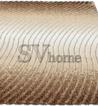 Высоковорсный ковер Luna 2453a p.brown-p.bone - высокое качество по лучшей цене в Украине.