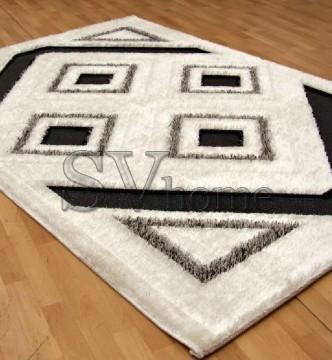 Высоковорсный ковер New York 3510 , CREAM BLACK - высокое качество по лучшей цене в Украине.