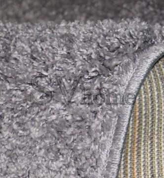 Высоковорсная ковровая дорожка SHAGGY BRAVO 1 GREY/GREY - высокое качество по лучшей цене в Украине.