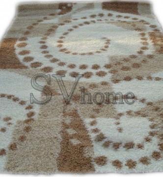 Высоковорсный ковер Silk S414-0 cream - высокое качество по лучшей цене в Украине.