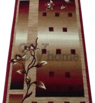 Синтетический ковер Amber 3743A BEJ/BORDO - высокое качество по лучшей цене в Украине.