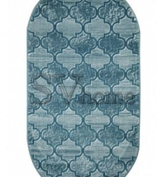 Синтетический ковер Ecrin 7312 , DARK BLUE - высокое качество по лучшей цене в Украине.