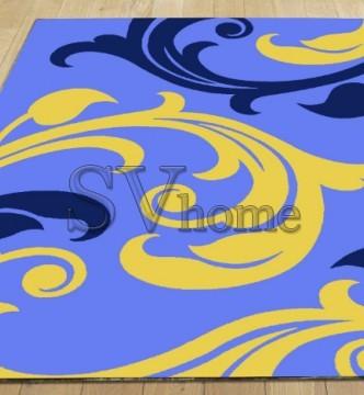 Синтетический ковер Legenda 0313 синий - высокое качество по лучшей цене в Украине.