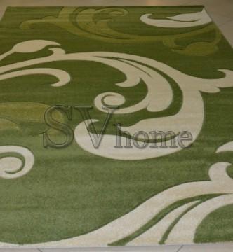 Синтетический ковер Legenda 0313 зелёный - высокое качество по лучшей цене в Украине.