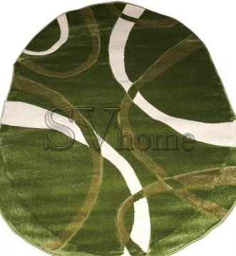Синтетический ковер Legenda  0353 формула зелёный - высокое качество по лучшей цене в Украине.