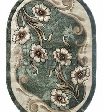 Синтетический ковер Virizka 168 green - высокое качество по лучшей цене в Украине.