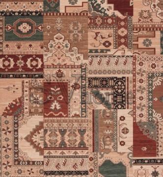 Шерстяной ковер Osta Kashqai (43-23/0-100) - высокое качество по лучшей цене в Украине.