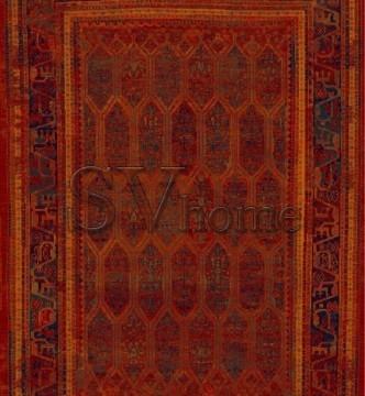 Шерстяной ковер Polonia Sarand Red - высокое качество по лучшей цене в Украине.