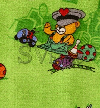 Детский ковролин Funny Bear 21 - высокое качество по лучшей цене в Украине.