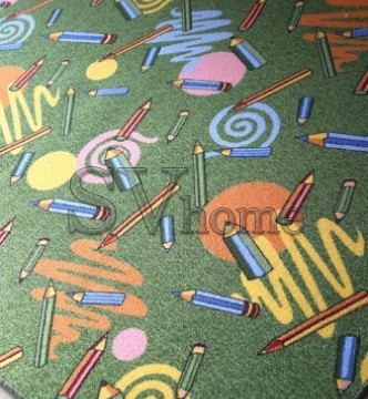 Дитячий ковролін p1127/51 green - высокое качество по лучшей цене в Украине.