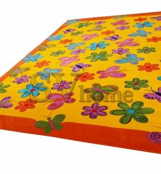 Детский ковер Baby 2057 Sari-Turuncu - высокое качество по лучшей цене в Украине.