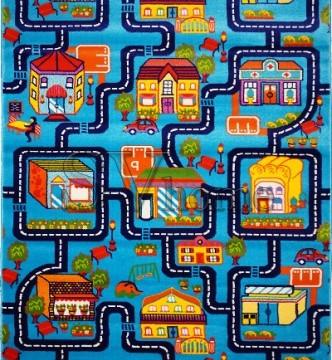 Детская ковровая дорожка Baby 6046  Mavi-Lacivert - высокое качество по лучшей цене в Украине.