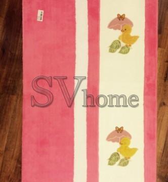 Дитячий килим Egeberk EG 19 , PINK WHITE - высокое качество по лучшей цене в Украине.