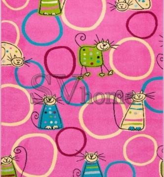 Детский ковер Funky Top Feline Amarant - высокое качество по лучшей цене в Украине.