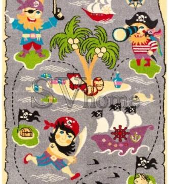 Детский ковер Funky Pir Szary - высокое качество по лучшей цене в Украине.