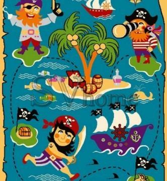 Детский ковер Funky Pir Turkus - высокое качество по лучшей цене в Украине.