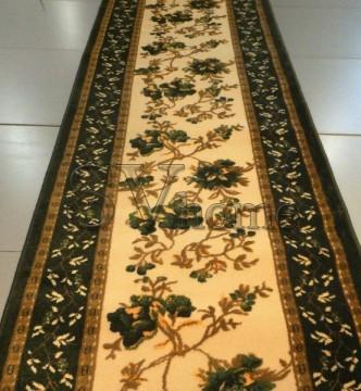 Акриловая ковровая дорожка Exclusive 0383 GREEN - высокое качество по лучшей цене в Украине.