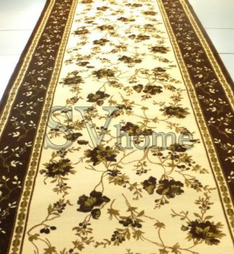 Акриловая ковровая дорожка Exlusive 0383 brown - высокое качество по лучшей цене в Украине.