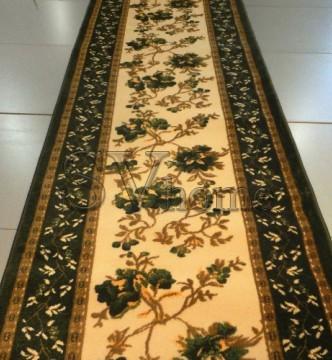 Акриловая ковровая дорожка Exlusive 0383 green - высокое качество по лучшей цене в Украине.