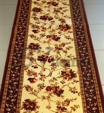 Акриловая ковровая дорожка Exlusive 0383 red - высокое качество по лучшей цене в Украине.