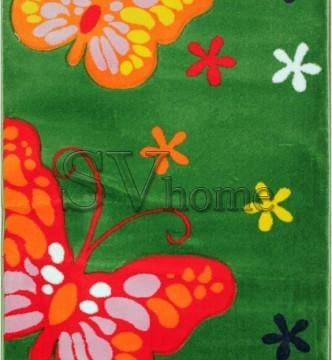 Дитяча килимова доріжка Rainbow 02911 green - высокое качество по лучшей цене в Украине.
