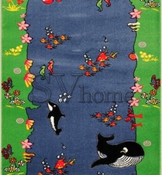 Дитяча килимова доріжка Rainbow 03256 blue - высокое качество по лучшей цене в Украине.