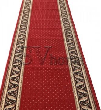 Кремлевская ковровая дорожка Silver / Gold Rada 362-22 red - высокое качество по лучшей цене в Украине.