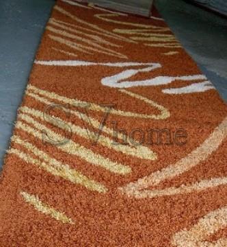 Высоковорсная ковровая дорожка Shaggy 0791 терра - высокое качество по лучшей цене в Украине.