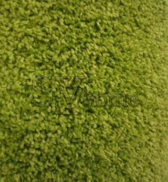 Високоворсна килимова доріжка Shaggy Mono 0720 зелений - высокое качество по лучшей цене в Украине.