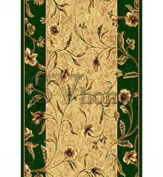 Синтетическая ковровая дорожка Silver 171-32 green Rulon - высокое качество по лучшей цене в Украине.